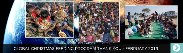 February 2019 - Global Christmas Feeding Program Thank You